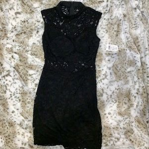 NEW WITH TAGS Windsor Black Lace Dress-Size S